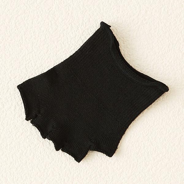 絹つま先なし5本指 22-24 タビオ