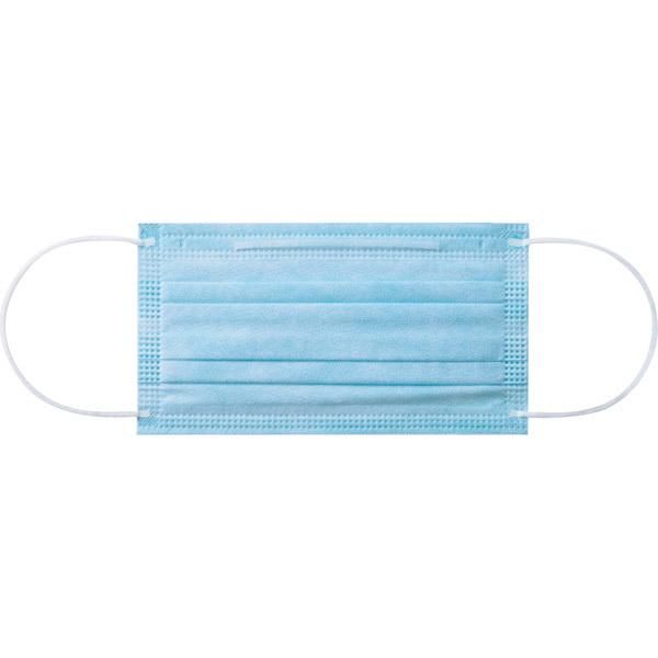 3層式サージカルマスク ブルー 100枚