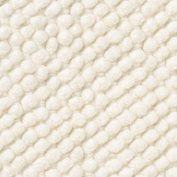 インド綿 バスマット・L/オフ白