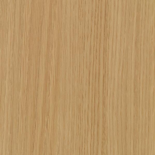 エムテックス ウッドラインキャビネット 3段 両開き ナチュラル扉 木目柄天板付 1台 (取寄品)