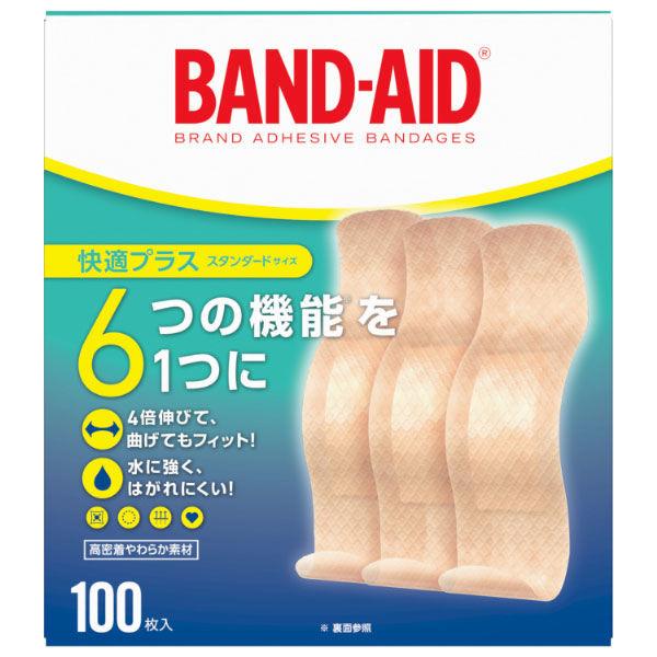 バンドエイド快適+ スタンダード100枚