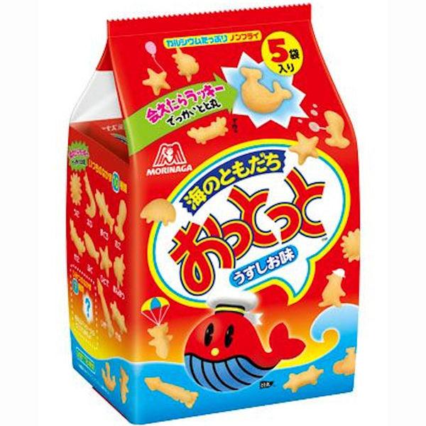 森永製菓おっとっとうすしお味 5パック