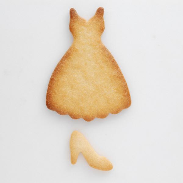 クッキー抜型プロムドレス&ハイヒール