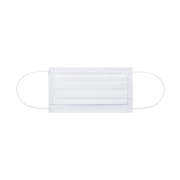 3層式サージカルマスク 小 白 200枚