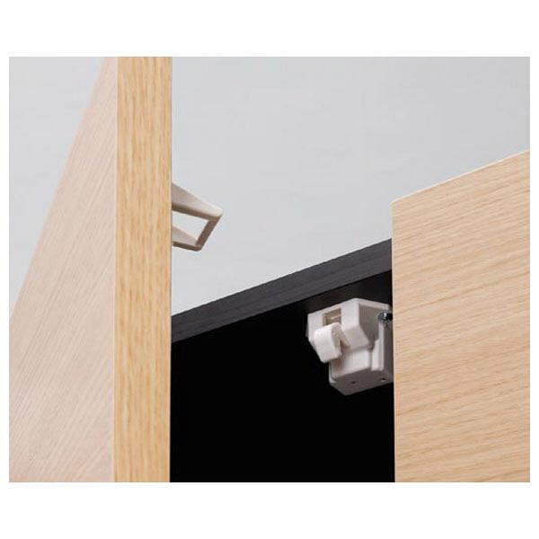 白井産業 壁面収納AVボード専用上置き棚 幅1200mm ナチュラル (直送品)