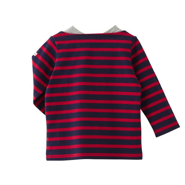 Tシャツ  紺  80cm