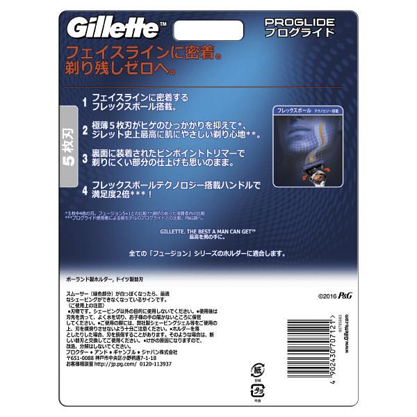 ジレット プログライドマニュアル8B