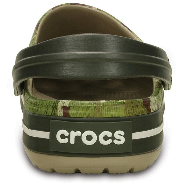 クロックス クロックバンドカモクロッグダスティオリーブ 25cm 203191-3J5-M7W9 (取寄品)