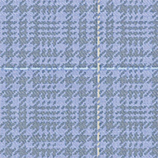 介護つなぎ服(前開き)ブルー L 403420-10 フットマーク (取寄品)