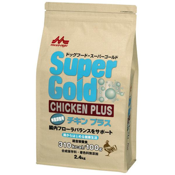 森乳スーパーG チキン体重調整2.4kg