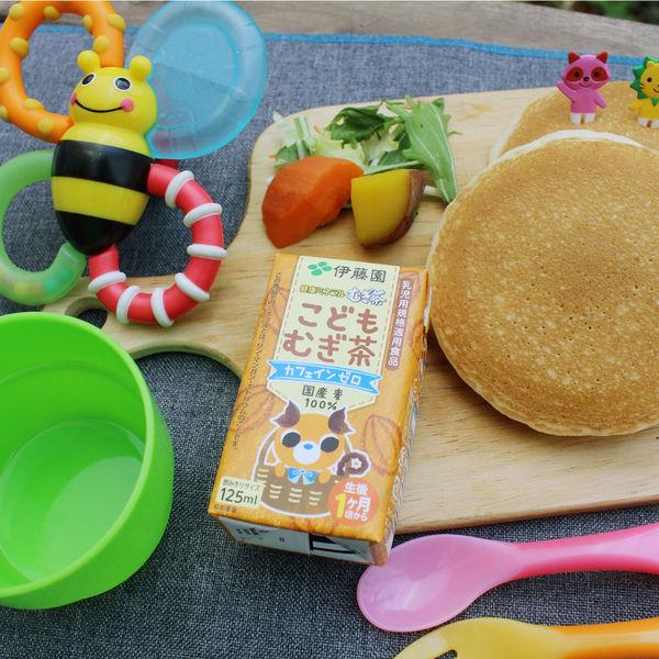 健康ミネラルむぎ茶こどもむぎ茶125ml