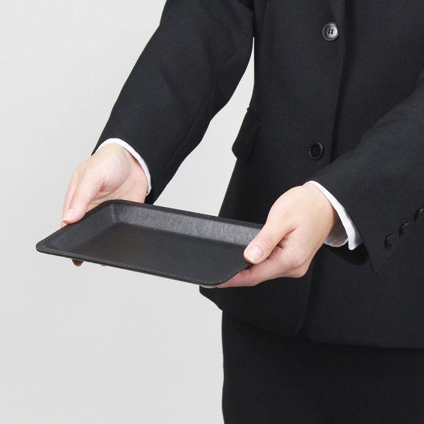 オープン工業 レザー調カルトン(コイントレー) 黒