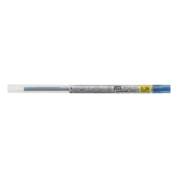 三菱鉛筆(uni) スタイルフィットリフィル芯 シグノインク 0.38mm ブルーブラック UMR-109-38 10本