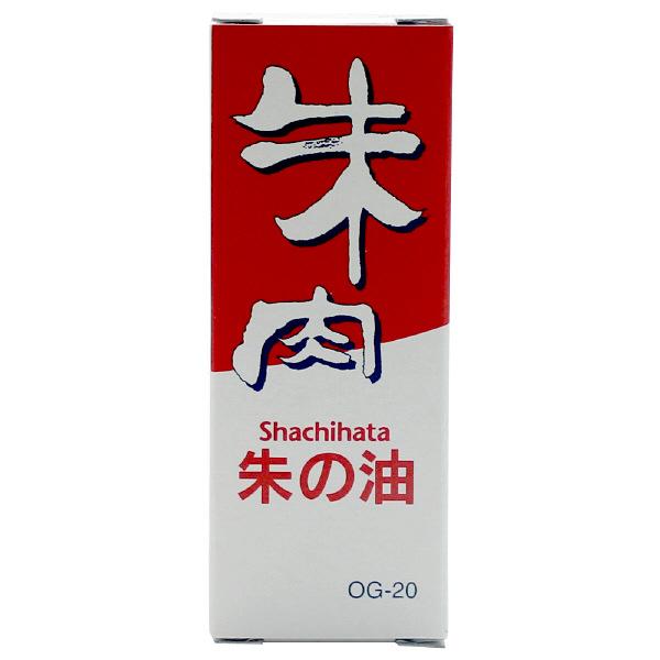 シヤチハタ 朱の油 (朱液) OG-20 1セット(3本:1本×3)