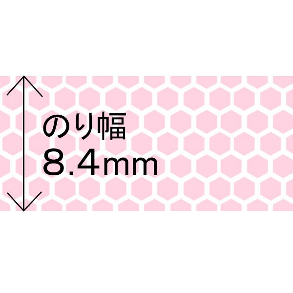 テープのり スピンエコ本体 ピンク