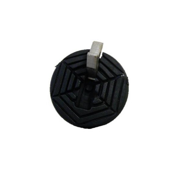 フジホーム ステッキ用替ゴム フリーサイズアイスピック付(16~22mm対応) WB3346 (取寄品)