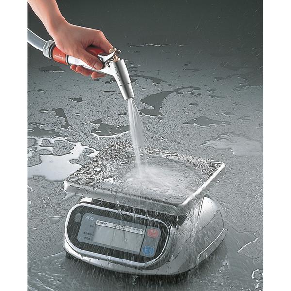 エー・アンド・デイ(A&D) 取引証明用(検定付) 防水デジタルはかり 20kg SK20KIWP
