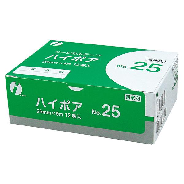 イワツキ ハイポア NO25 25mm×9m 004-41762 1箱(12巻入)