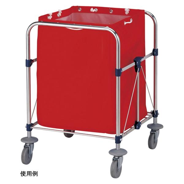 山崎産業 リサイクルカート Y-2 収納袋 小 レッド C250-002X-MB (直送品)