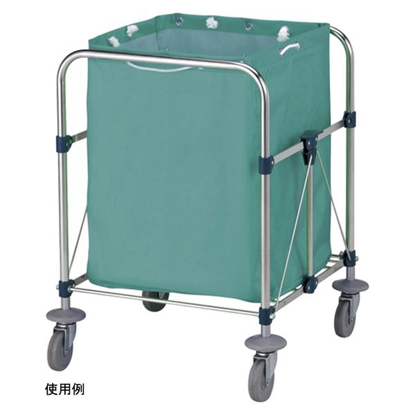 山崎産業 リサイクルカート Y-2 収納袋 小 グリーン C250-002X-MB (直送品)