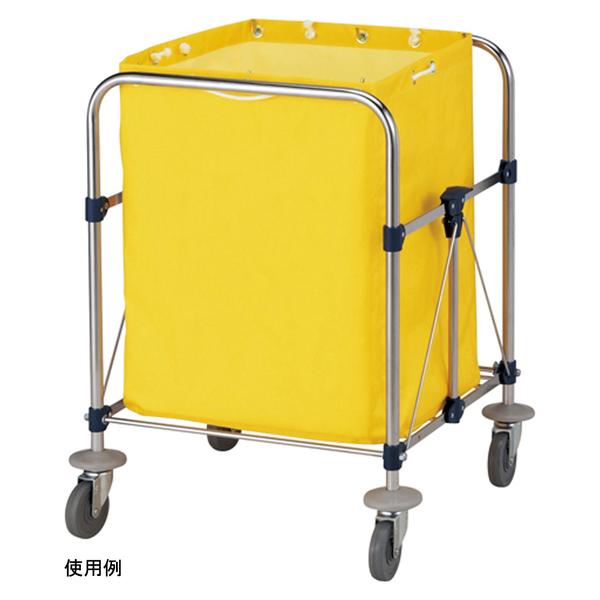 山崎産業 リサイクルカート Y-2 収納袋 小 イエロー C250-002X-MB (直送品)