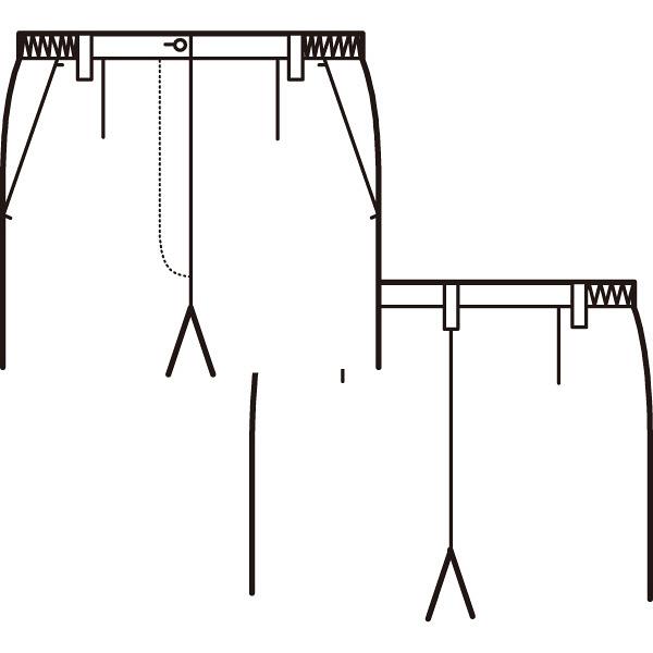 AITOZ(アイトス) ナースパンツ(ブーツカット) 女性用 ピンク L 861354-060
