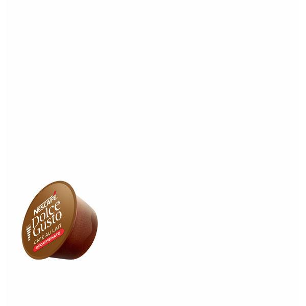 ネスレ日本 ネスカフェ ドルチェグスト専用カプセル カフェオレ カフェインレス 1箱(16杯分)