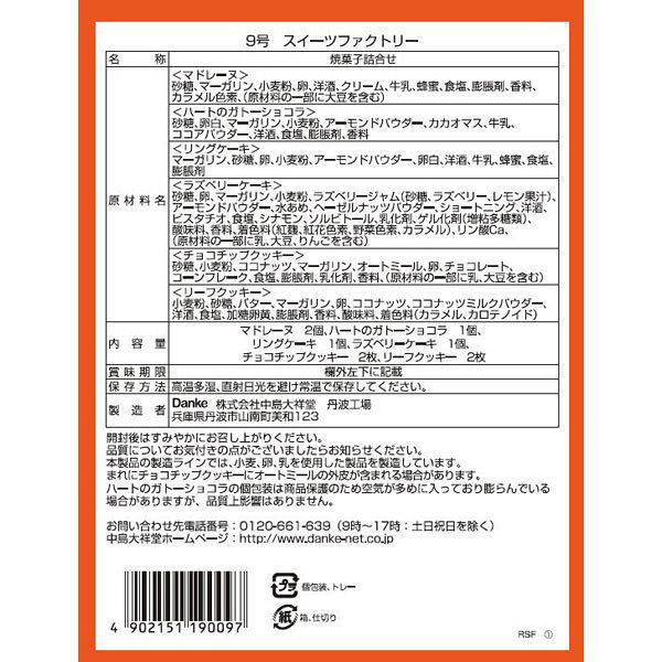 中島大祥堂 スイーツファクトリー 1箱