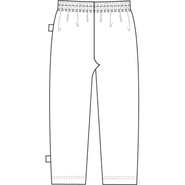 ナガイレーベン 検査衣(患者衣・検診衣)パンツ LK-1408 ネイビー M (取寄品)