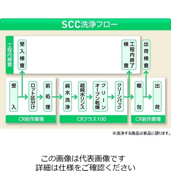 アズワン MEISTER ピンセット TNF クリーンパック No.2A 1本 6-7905-53 (直送品)