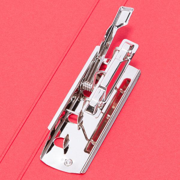 ビュートン エコノミーZファイル A4タテ レッド 1箱(10冊入)