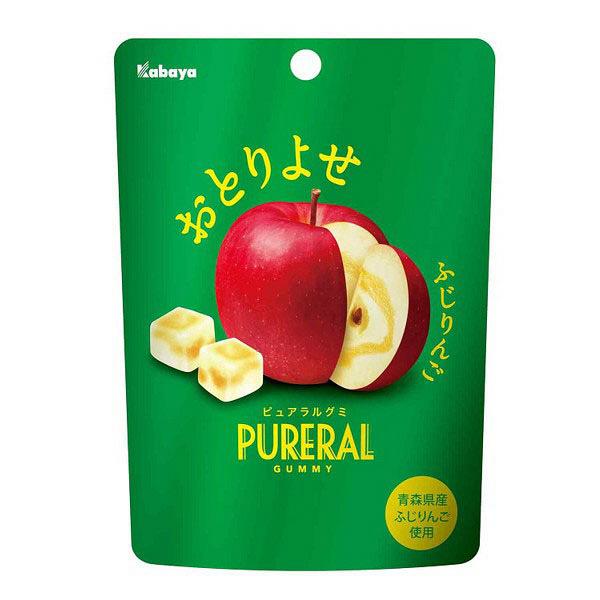 カバヤ食品 ピュアラルグミ りんご