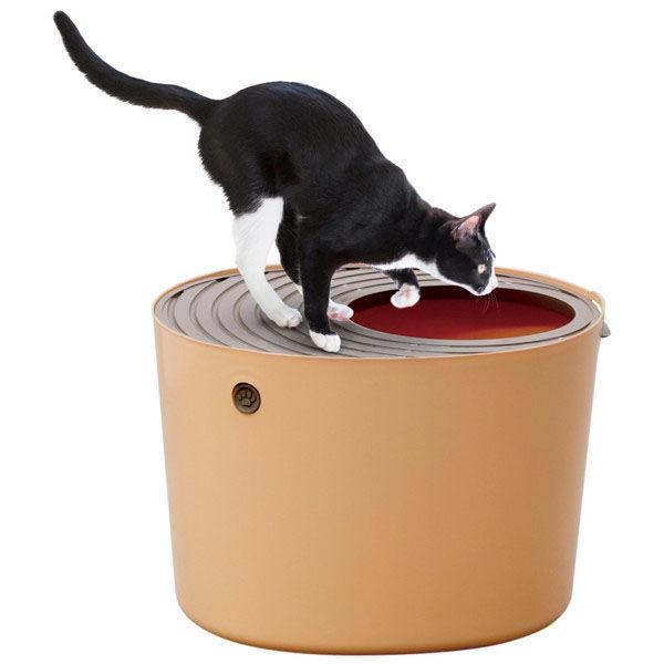 上から猫トイレ 1台