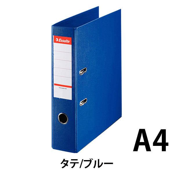 エセルテジャパン レバー式アーチファイル A4タテ 背幅75mm ブルー 70ST