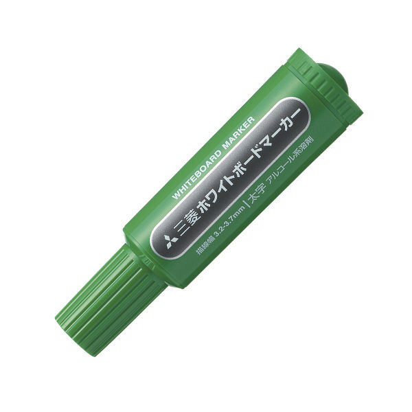 三菱鉛筆(uni) ホワイトボードマーカー 太字丸芯 緑 PWB7M