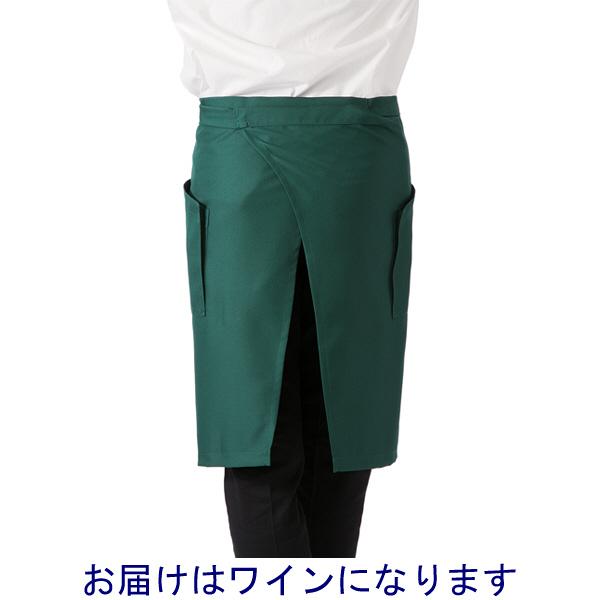 ボンマックス ミドルエプロン ワイン F (直送品)