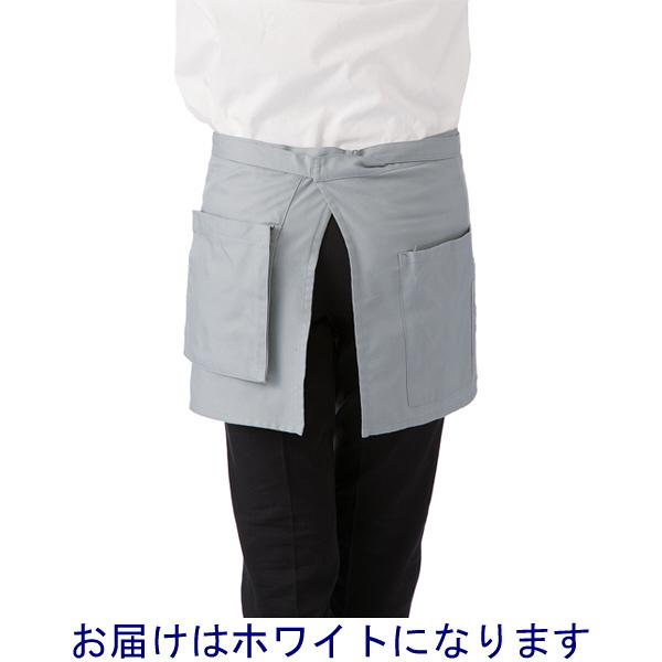 ボンマックス サロンエプロン ホワイト F (直送品)
