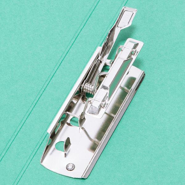 ビュートン エコノミーZファイル A4タテ グリーン 1セット(30冊:10冊入×3箱)