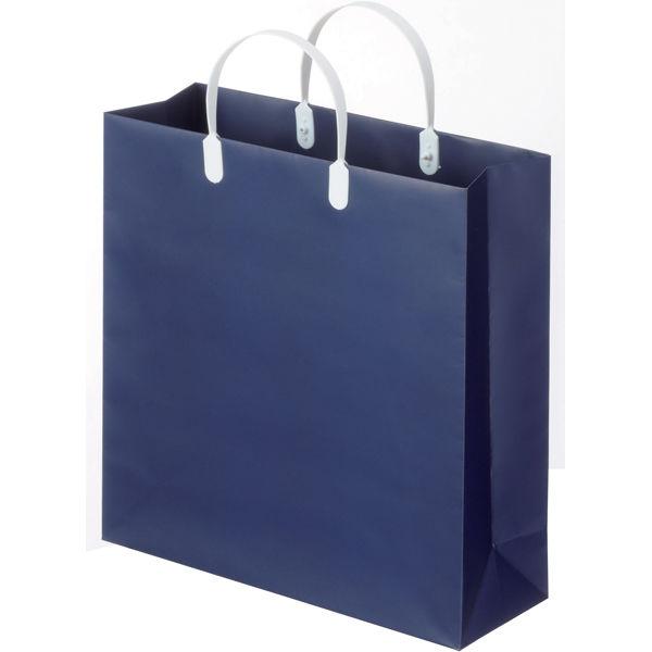 平紐 手提げ紙袋 紺 S 5枚