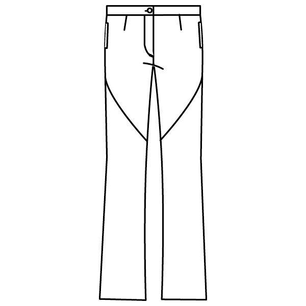 ワコールHIコレクション ブーツカットパンツ HI300ー1 ホワイト LL (直送品)