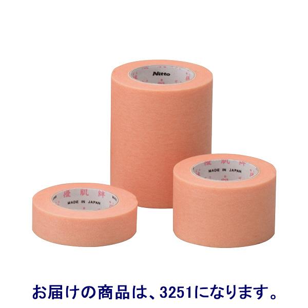 ニトムズ 優肌絆不織布(肌) 12mm×7m 3251 1箱(24巻入)