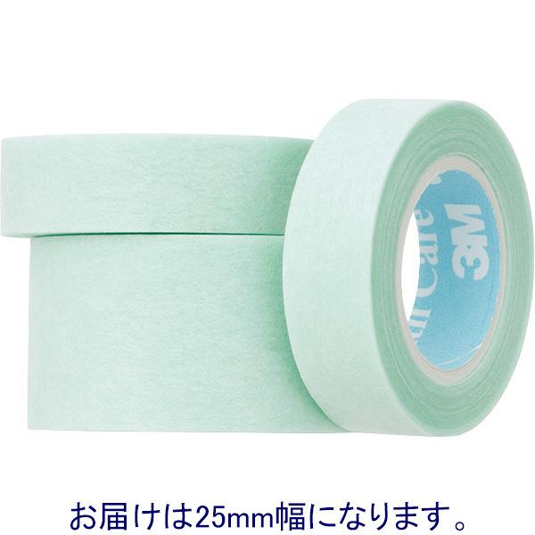 スリーエム ジャパン ジェントルフィックス低剥離刺激性テープ 25mm×7m 1735-1 1箱(6巻入)