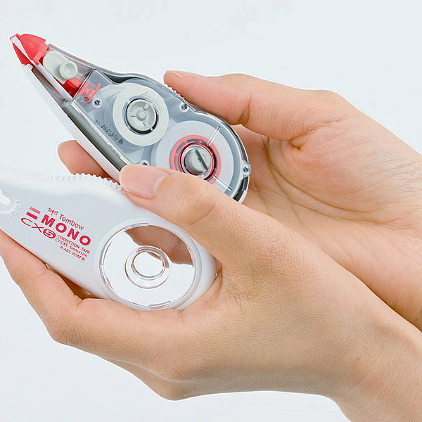 トンボ鉛筆【MONO】修正テープカートリッジ モノCX用 6mm幅×12m CT-CR6 30個
