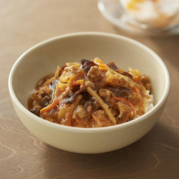 ごはんにかける 黒豚と大麦黒酢の酸辣湯