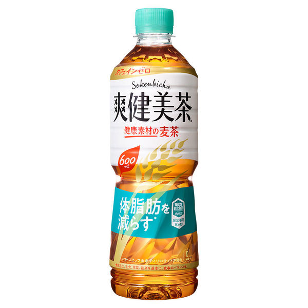 爽健美茶 健康素材の麦茶600ml 6本