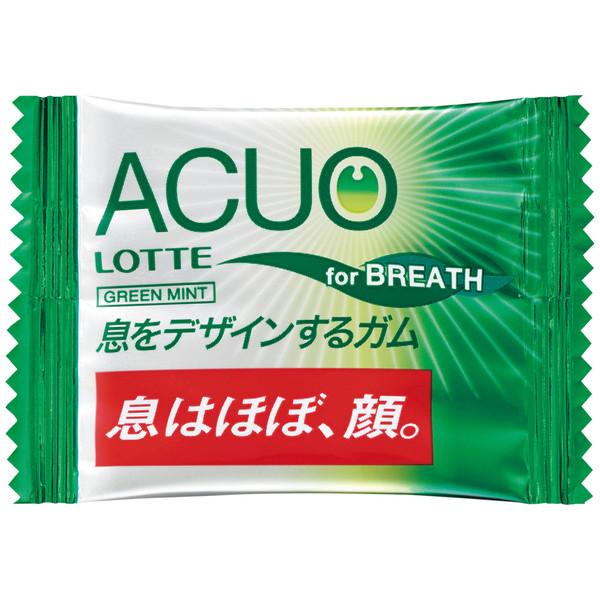 ロッテ ACUOグリーンミント 1パック