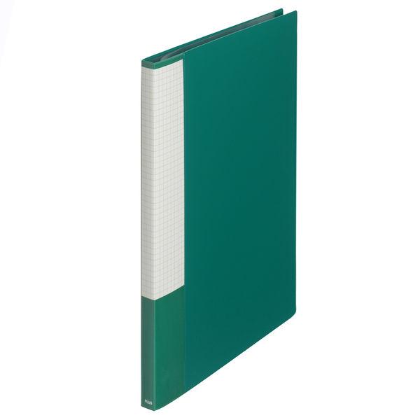 プラス スーパーエコノミークリアーファイル A4タテ 20ポケット グリーン FC-122EL 88423 1箱(10冊入)