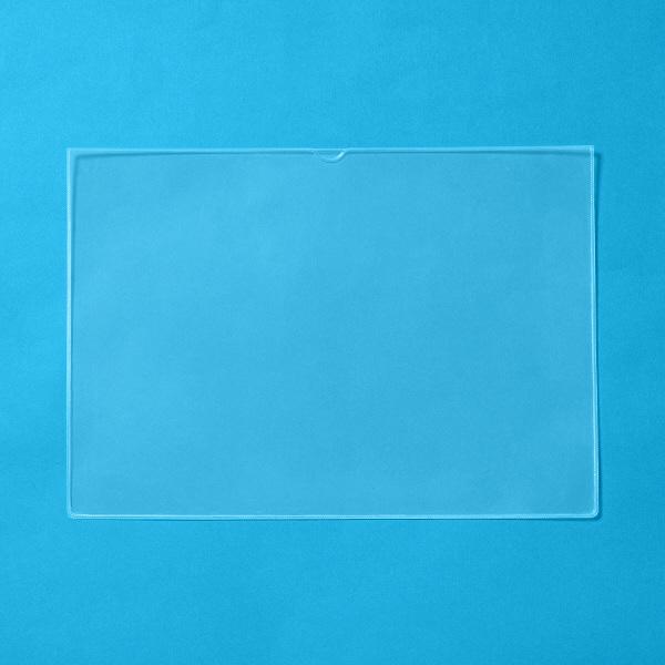 プラス 再生カードケース(ソフトタイプ) A3 34484 業務用パック 1箱(20枚入)