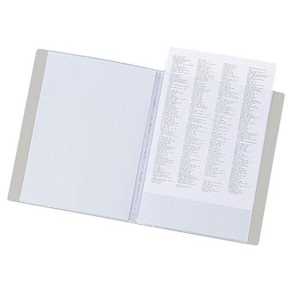 リヒトラブ リクエスト クリヤーブック A4タテ 20ポケット 白 G3201 業務用パック 1箱(10冊入)