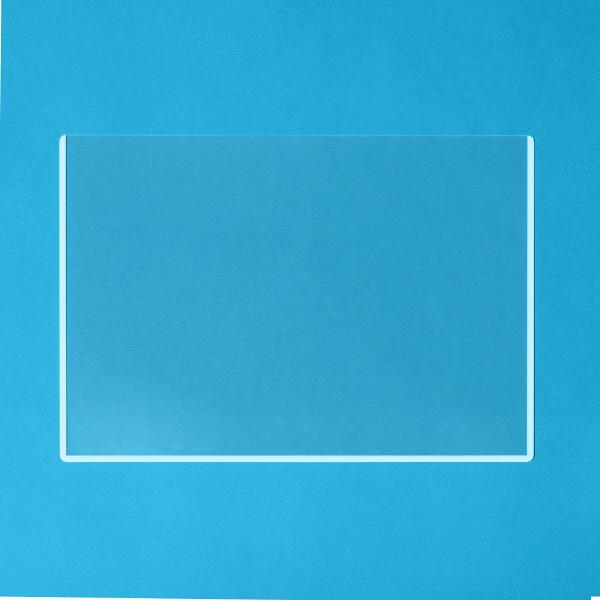 プラス カードケース ハードタイプ(再生PET仕様) B4 262×370 34482 業務用パック 1箱(20枚入)